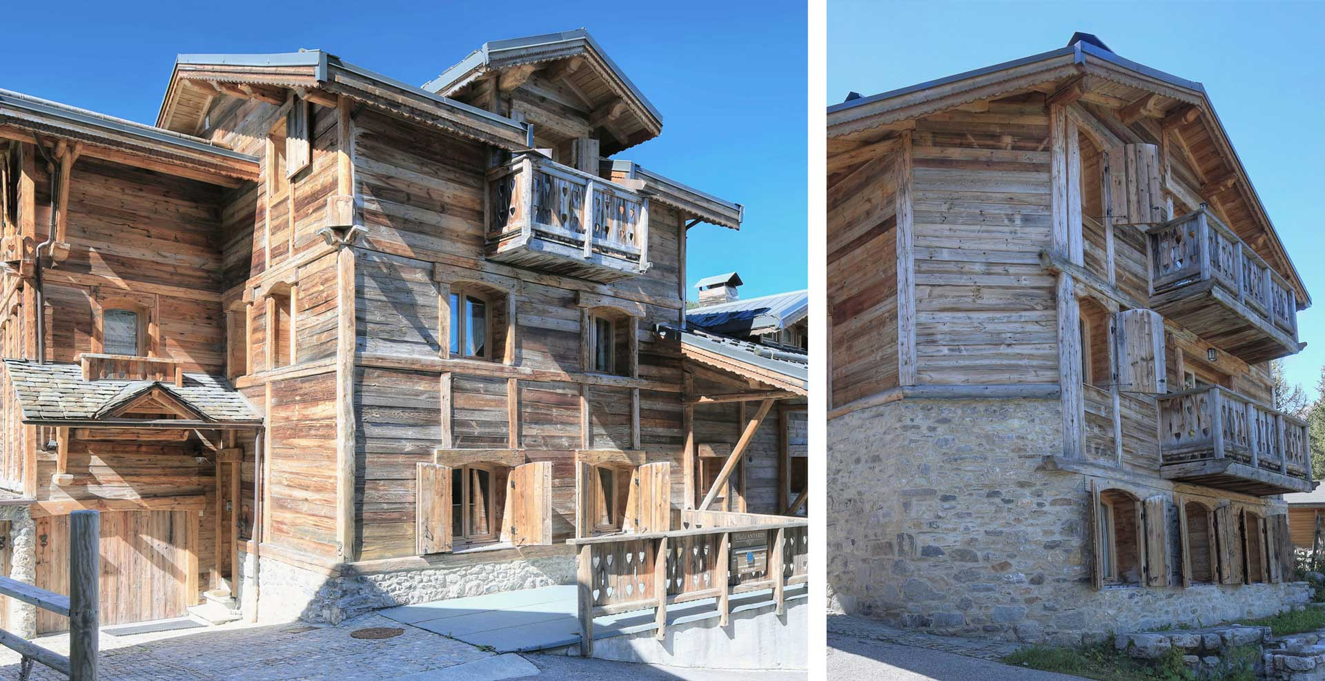 3 appartements à louer à courchevel